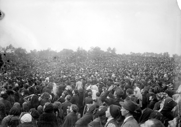 Muchas personas estuvieron acompañándonos en las apariciones de la Virgen de Fátima