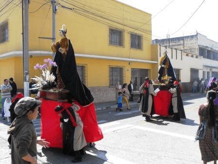 Procesión de San Miguel de Capuchinas