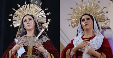 Virgen de Dolores de San José comparacion
