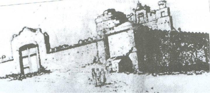 Puerta a la ermita mediados de siglo XIX