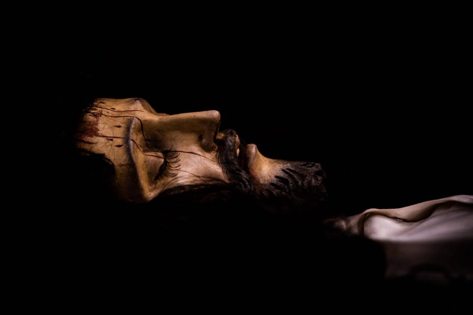 señor sepultado de la preciosísima sangre de cristo