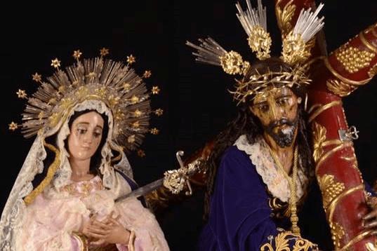 Jesús de las Tres Potencias y Virgen de Dolores