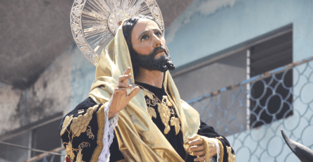 Jesús de las Palmas o de la Burriquita de Capuchinas