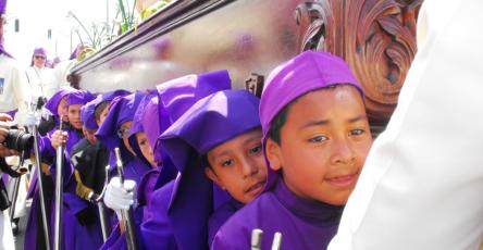 Turnos procesiones infantiles 2017 Cuaresma y Semana Santa
