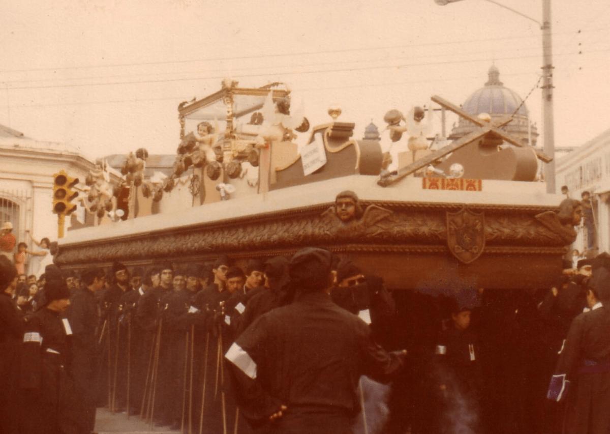 Viernes Santo de Santo Domingo 1980