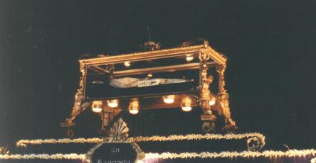 Viernes Santo 1993 Señor Sepultado de Santo Domingo y Virgen de Soledad