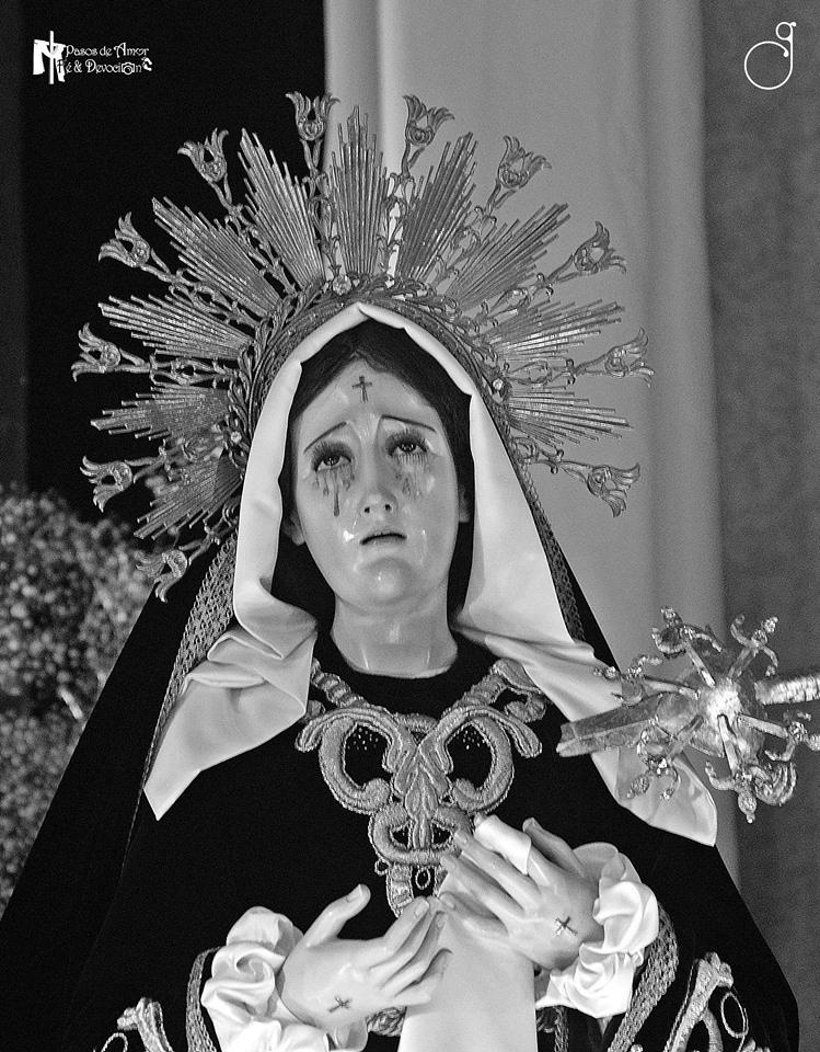 consagración Virgen de Dolores de San Nicolás