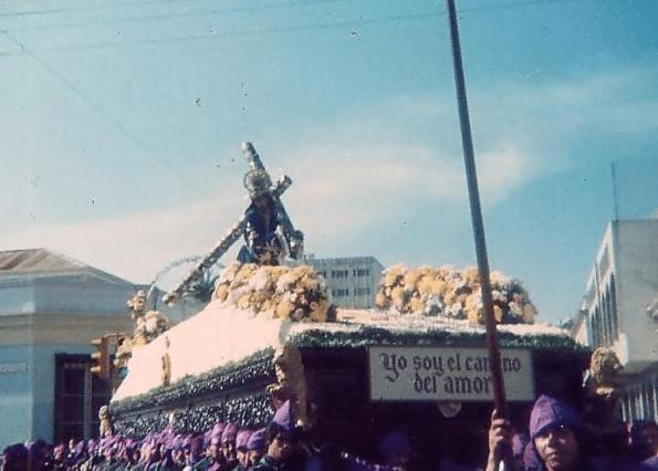 Jesus de la Merced Viernes Santo de 1985 por Daniel Gordillo