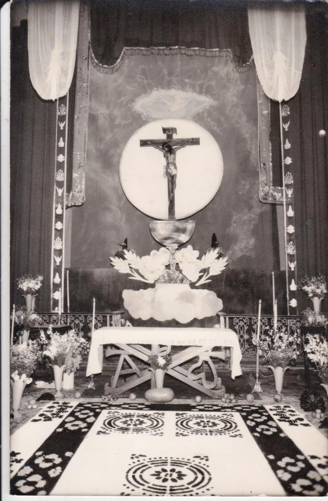 Cristo de la Parroquia de los Remedios de la Escuela de Cristo