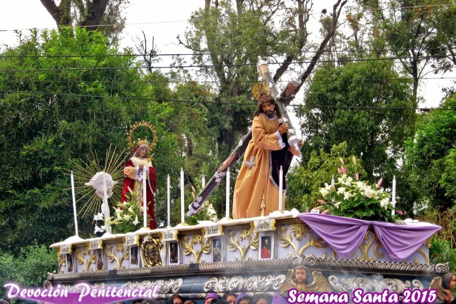 Jesus del Silencio de Antigua Guatemala el Calvario