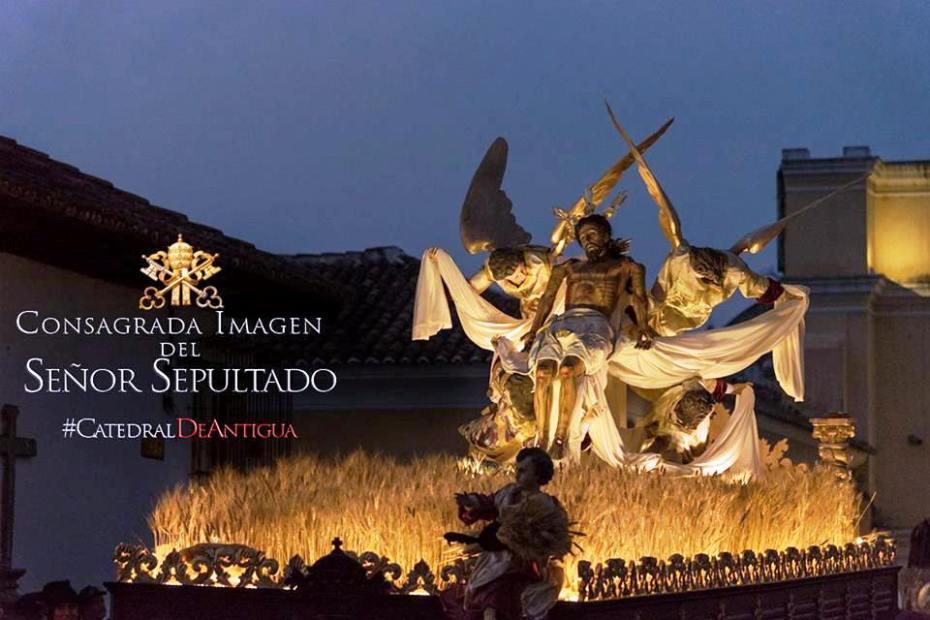 Señor Sepultado de Catedral de Antigua Guatemala