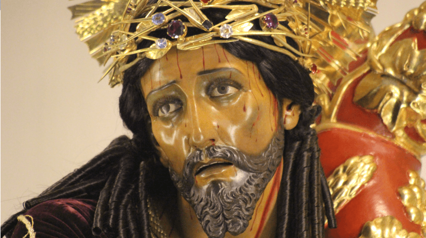 Bello rosto de Jesús de los Milagros