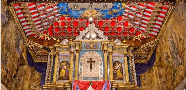 Retablo Iglesia de Chiantla