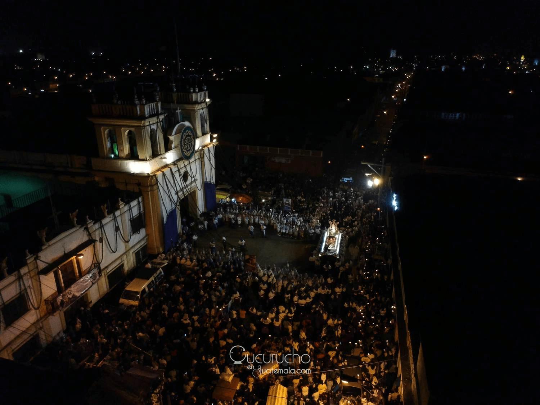 recorridos procesionales en tiempo real semana santa antigua guatemala
