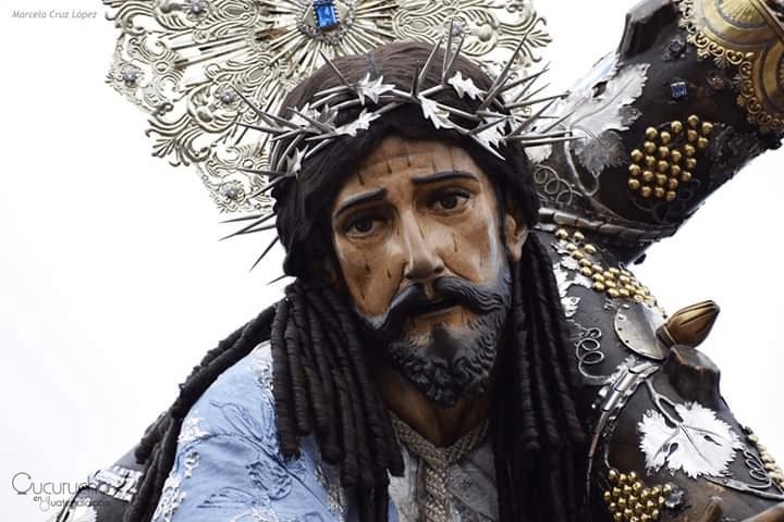 Jesús De La Merced en su Procesión de La Reseña 2018 (Foto: Archivo CnG)