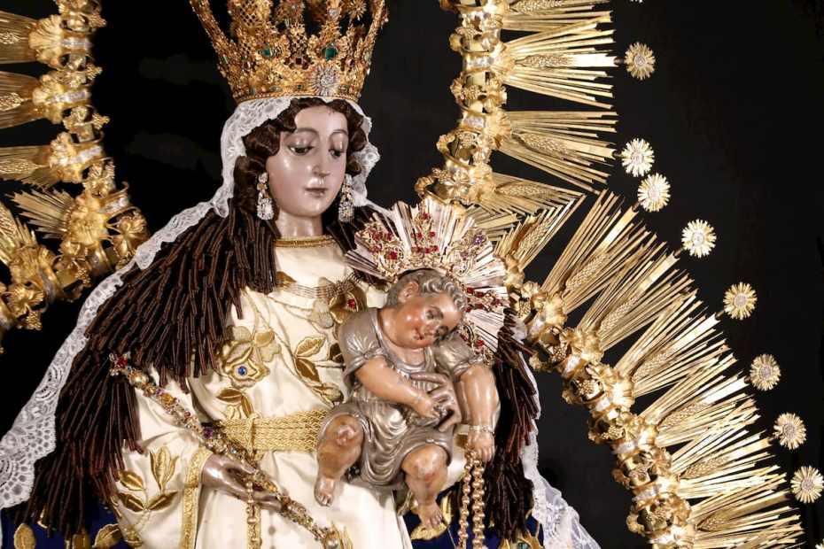 historia de la virgen del rosario de santo domingo guatemala