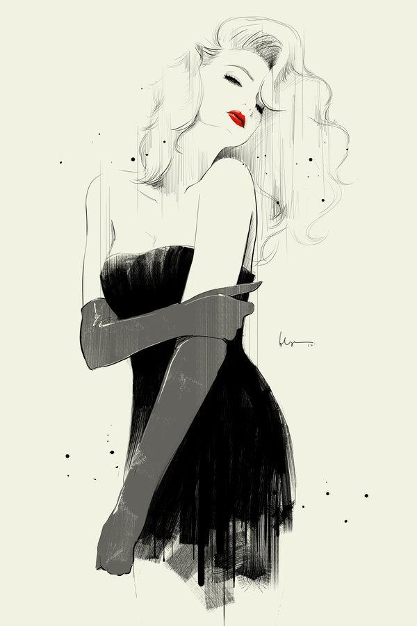 50 Beautiful Fashion Illustrations   Art and Design Fashion Illustration by Chun Fui Ng   50 Beautiful Fashion Illustrations  3   3