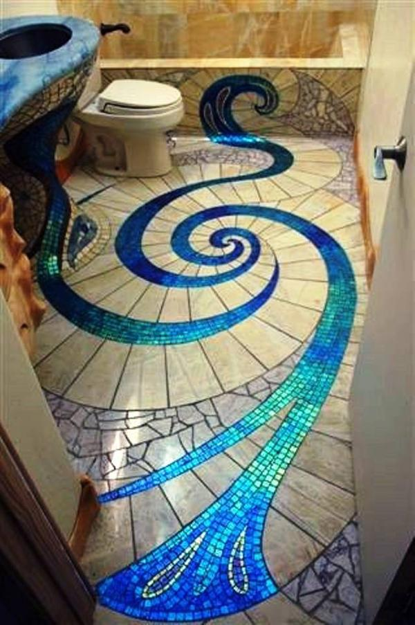 A snake or a vortex?
