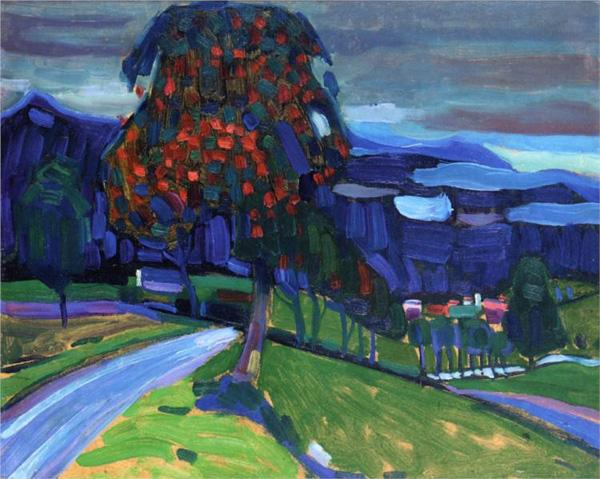 20 Famous Wassily Kandinsky Paintings   Art and Design autumn in murnau   20 Famous Wassily Kandinsky Paintings