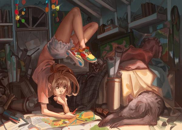 My plans - 50 Examples of Anime Digital Art <3 !