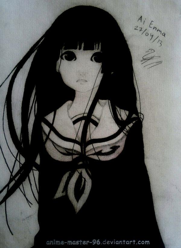 Anime Girl Black Hair Drawing Amathair Co
