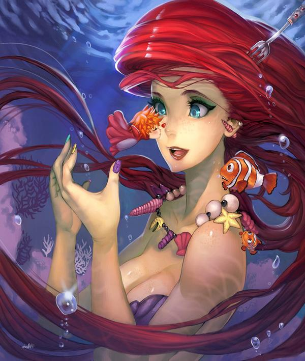 Dreams can be Blue - 50 Examples of Anime Digital Art <3 !
