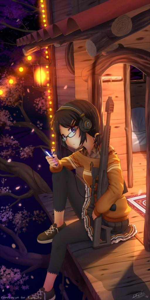 comm – Kana Yoshiko - 50 Examples of Anime Digital Art <3 !