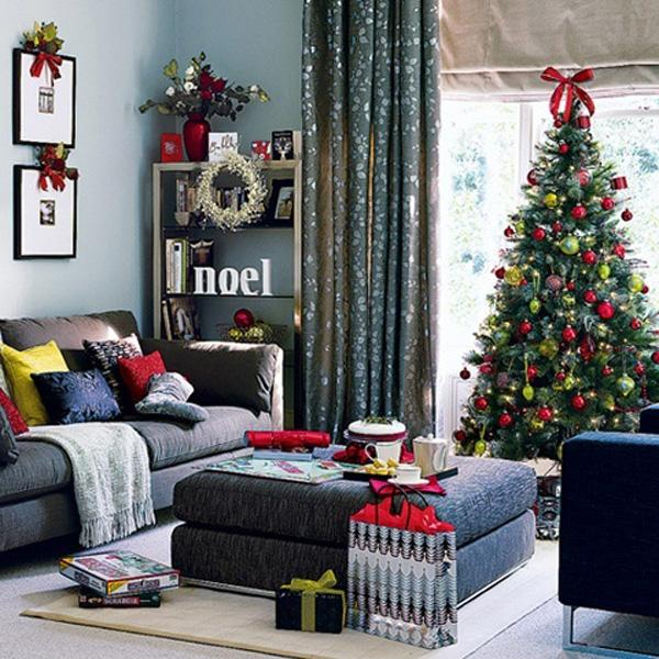 Christmas with a modern touch.