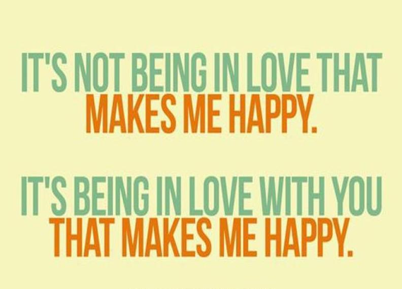 25 You Make Me Happy Quotes | Cuded
