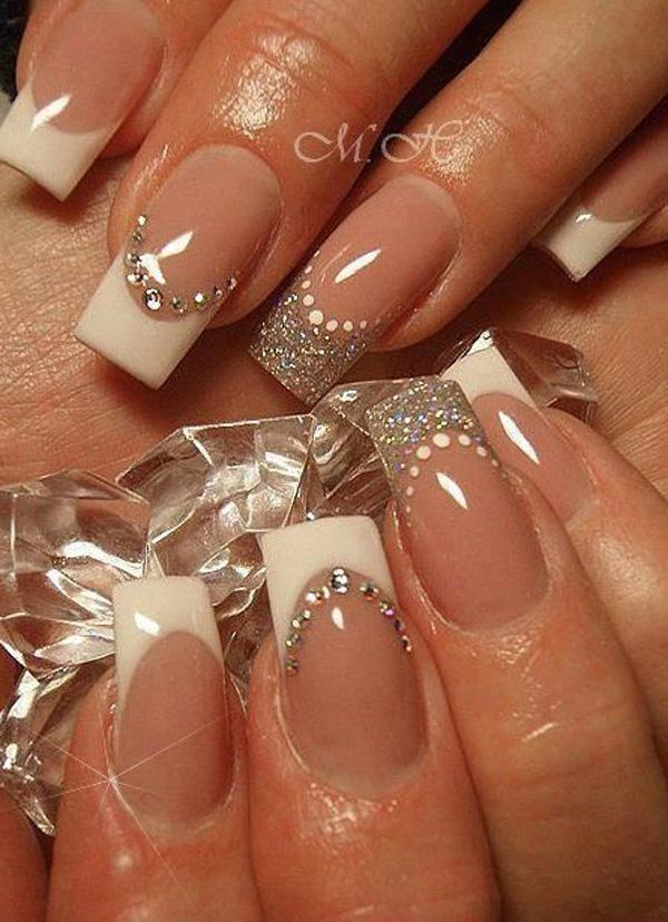 French Tip Nail Design Ideas 396
