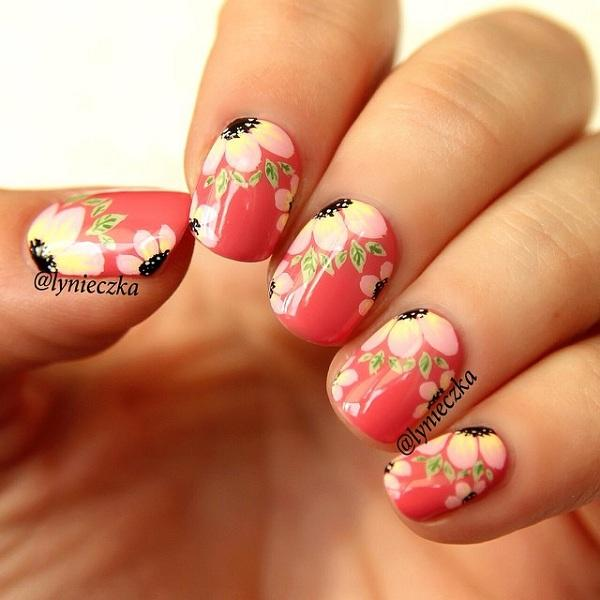Pretty Summer Nail Art