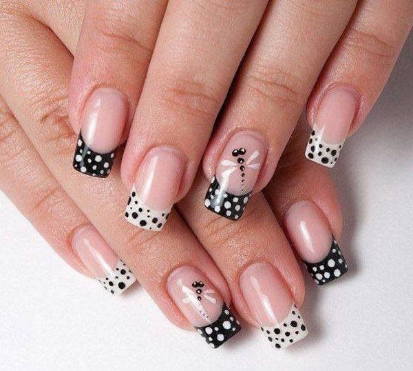 Fill Your Nails With This Wonderful Ensemble Of Glitters And Be French Manicure Starts