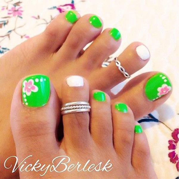 Cute Toe Nail Art 5
