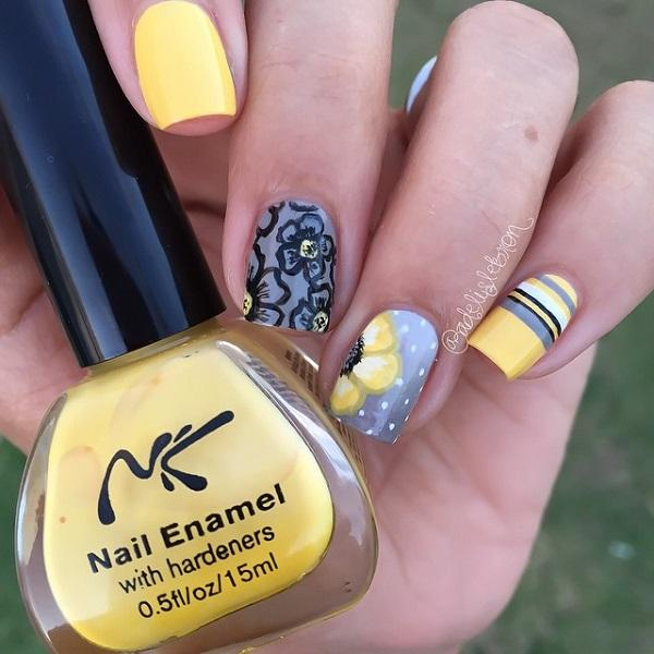 pretty fall nail designs 50 best acrylic nail art designs ideas trends