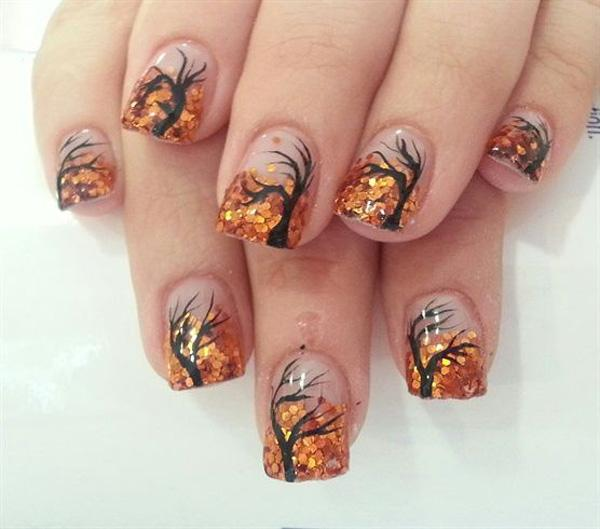 Fall Nail Art Designs 30