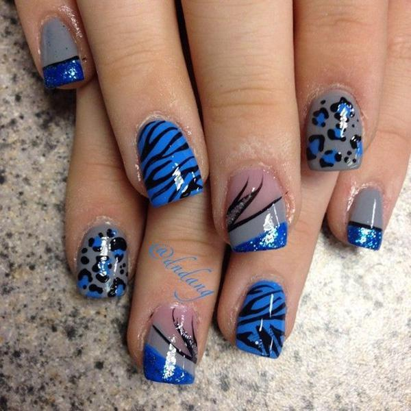 Another Wonderful Version Of The Cly Bow Inspired French Tips Nails Are Coated In
