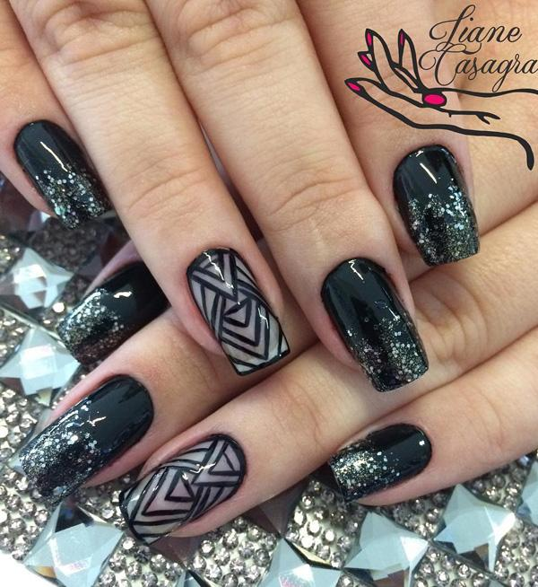 Images Of Black Nail Art Designs