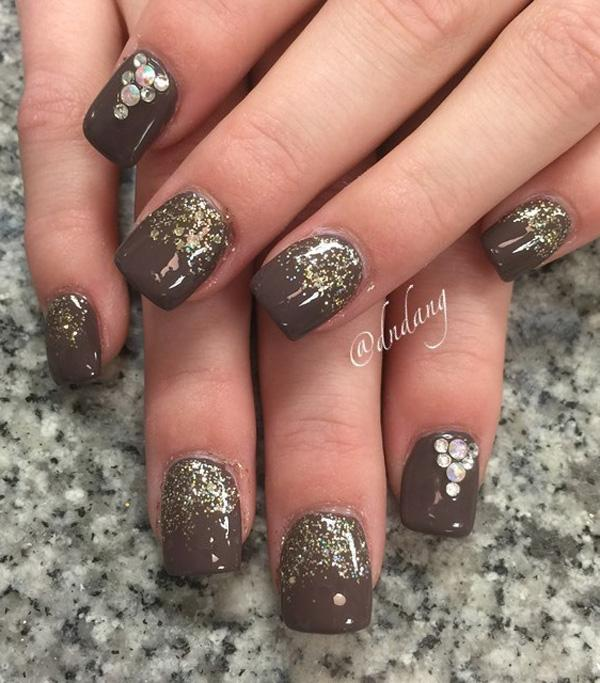 Want A Stand Out And Risqué Polish Why Not Try This Chocolate Gold Inspired