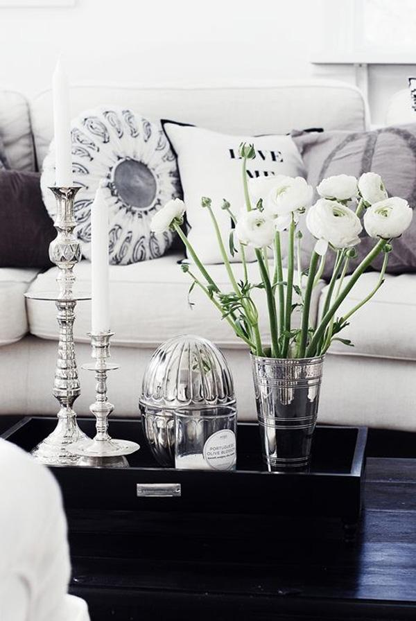 35 vases and flowers living room ideas