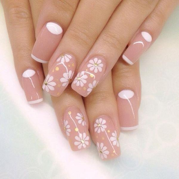 Wonderful Flower Inspired Nail Art Design Bring A Cheery Vibe To Your Nails