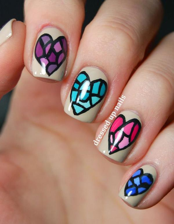 Another Diy Design For Those Who Are Practicing With Their Nail Art Designs