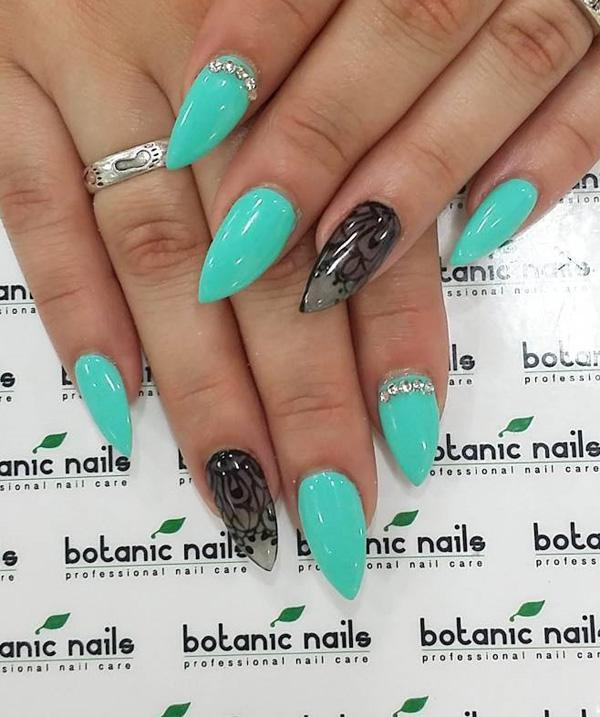 They Say That The Color Of Nail Polish Reveals Character Turquoise Nails Often Choose Women