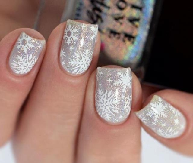 Snow Nail Art Ideas For Winter Art And Design