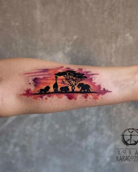 landscape tattoo ideas