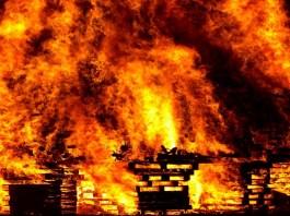 Fire Hazard In Kenya