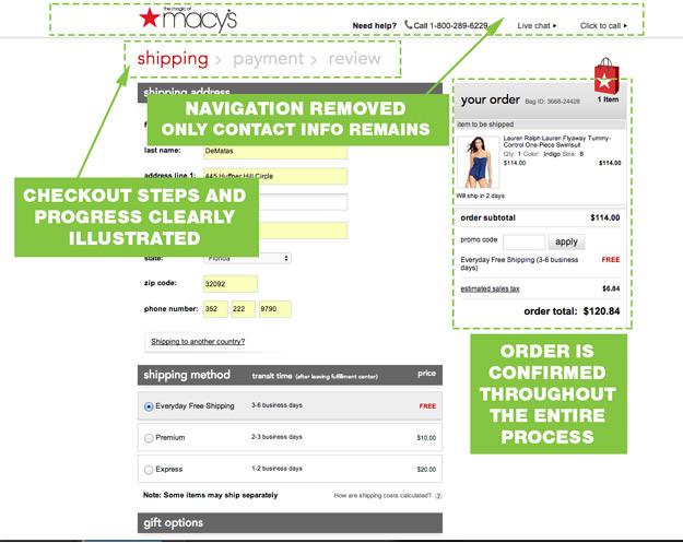 UX-Best-Practices-Macys-Checkout-Process