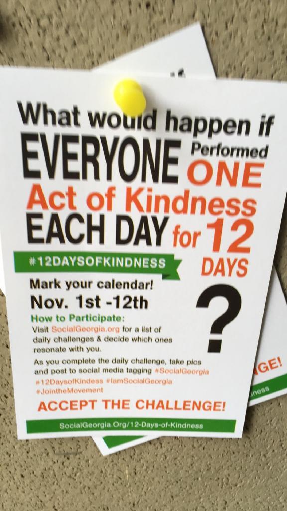 #12daysofkindness