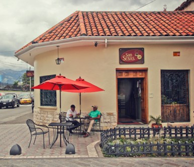Outdoor dining is another San Sebas option.