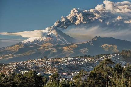 Cotopaxi in early September. Photo credit: Henry Leduc