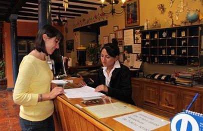 According to Cuenca's hotel association, the city's hotels and hostals are being hurt from competition from unlicensed rentals.